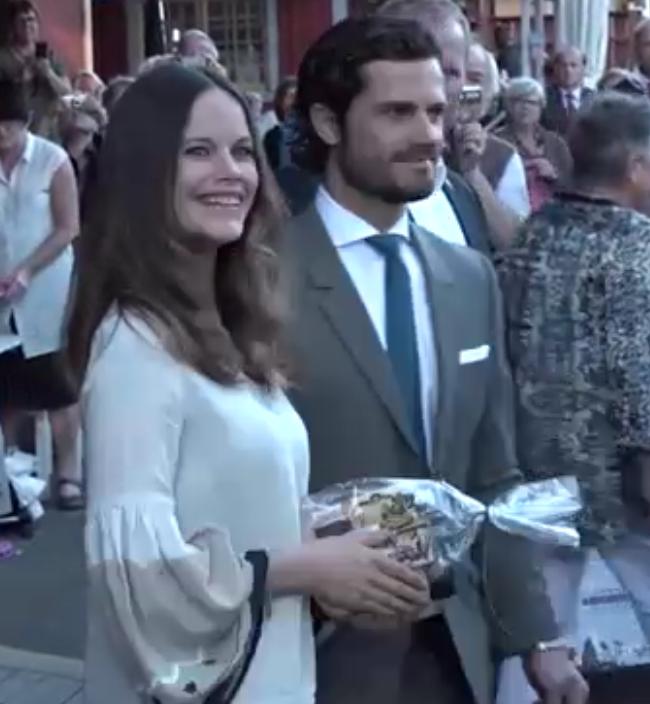 Carl Philip and Sofia at Swedish Heritage 100 2