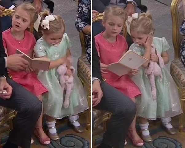 estelle-and-leonore-sharing-a-chair-at-alexanders-christening