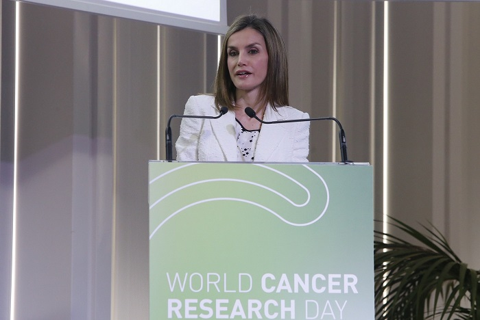 letizia-speech-at-world-cancer-research-day-s