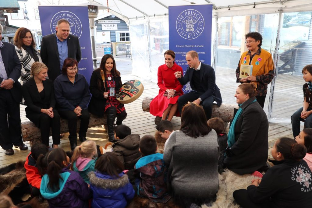 william-and-kate-listen-to-storytelling-session-at-macbride-museum-of-yukon-history