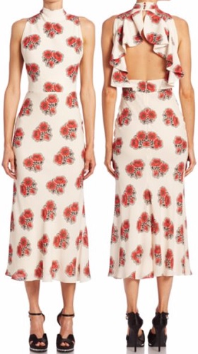 alexander-mcqueen-poppy-print-open-back-midi-dress