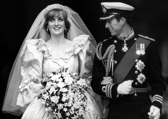 Prince Of Wales And Lady Diana Spencer Wedding