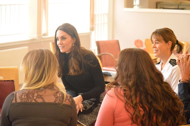 Catherine, Duchess of Cambridge Visits Eastwood Park Prison