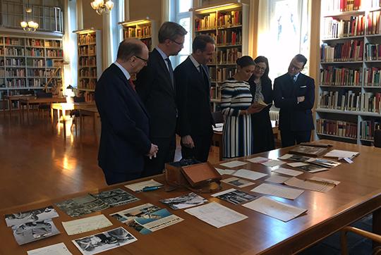 victoria-and-daniel-visit-the-swedish-institute-in-rome