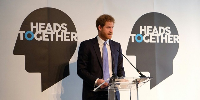 Harry gives speech at Heads Together event Jan 2017 s
