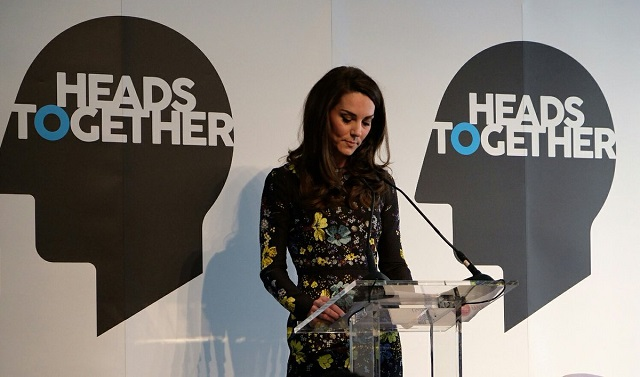 Kate gives speech at Heads Together event Jan 2017 s