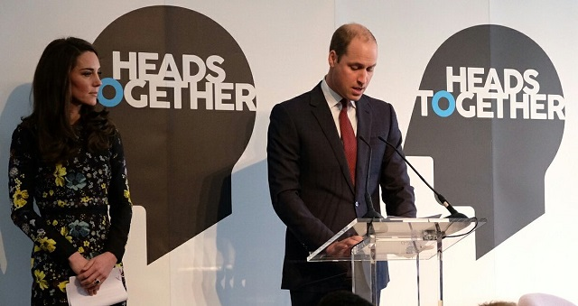 William gives speech at Heads Together event Jan 2017 s