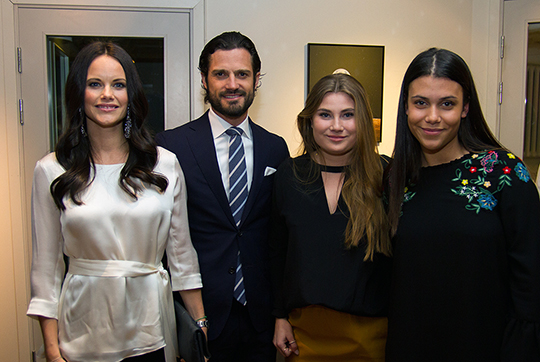Carl Philip and Sofia podcast launch 1