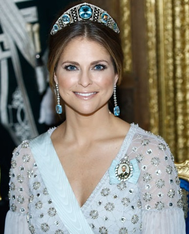Madeleine aquamarine tiara Canada-Sweden State Visit 2017