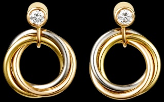 Cartier Trinity Earrings s