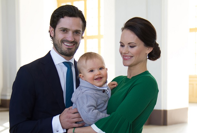 Prince Carl Philip Princess Sofia Prince Alexander March 2017