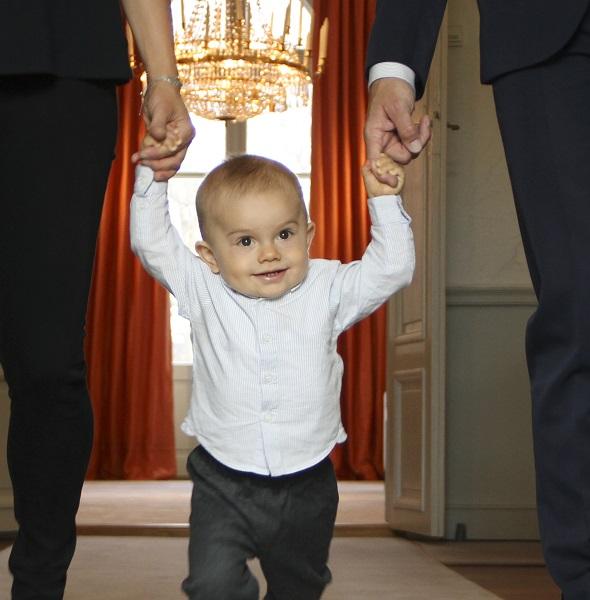 Prince Oscar 1st Birthday