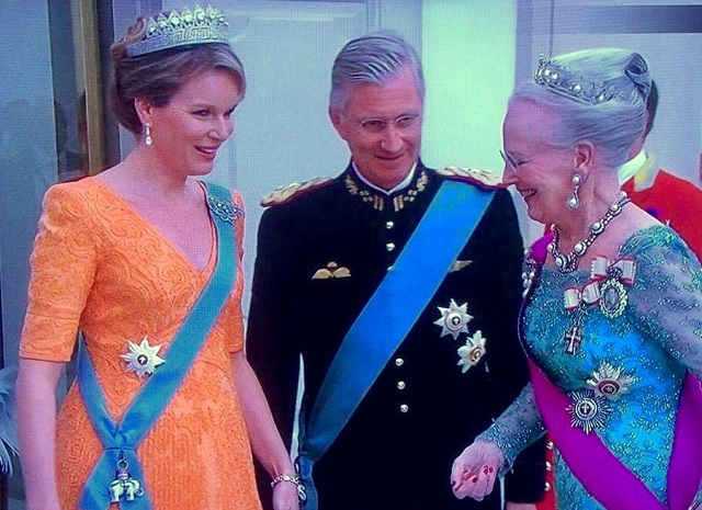 Queen Margrethe and Queen Mathilde State Banquet March 2017
