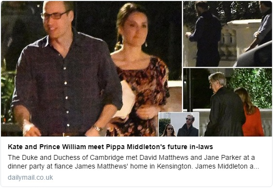 William and Kate Pippa's party DM 1