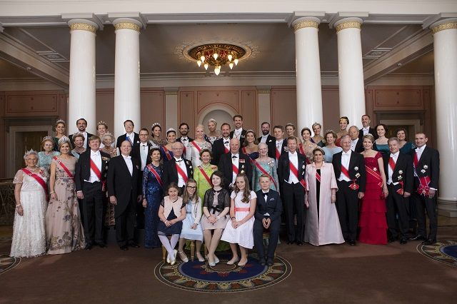Royals at Norway 80th birthday celebrations