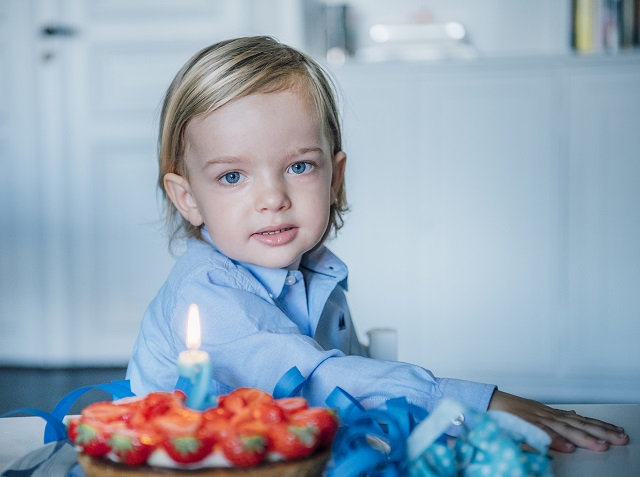 Prince Nicolas 2nd Birthday