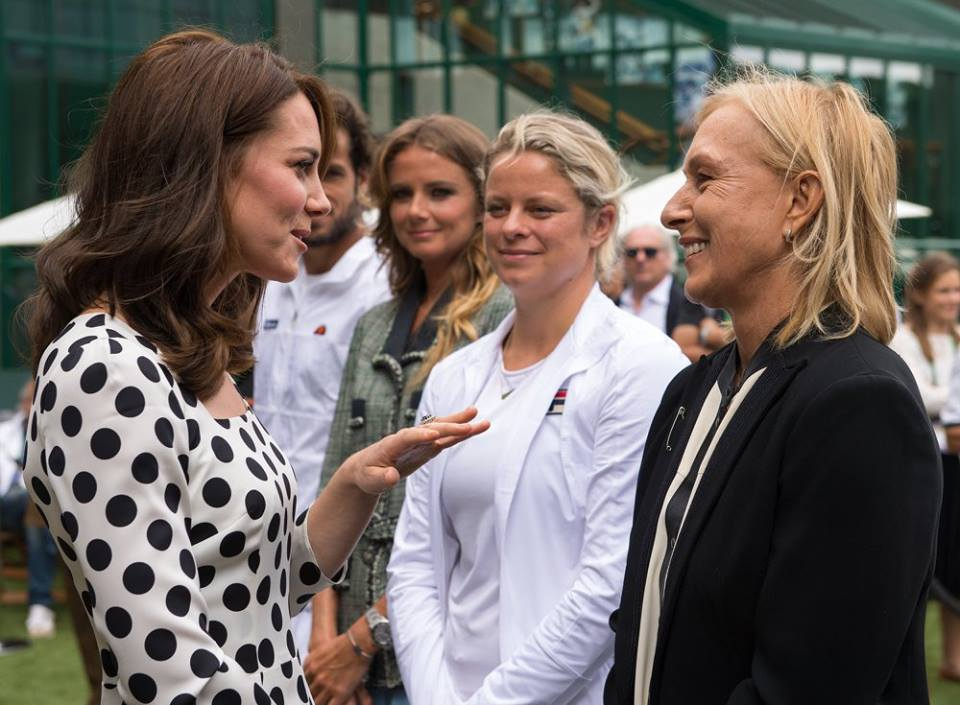 Kate at Wimbledon July 3 2017 1