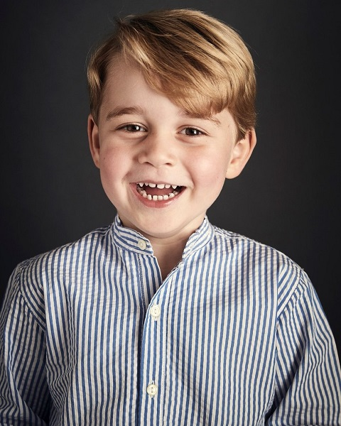 Prince George 4th birthday photo