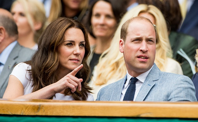 William, Kate Wimbledon Men's Final 2017 2 cs
