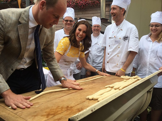 William, Kate make pretzels in Heidelberg s