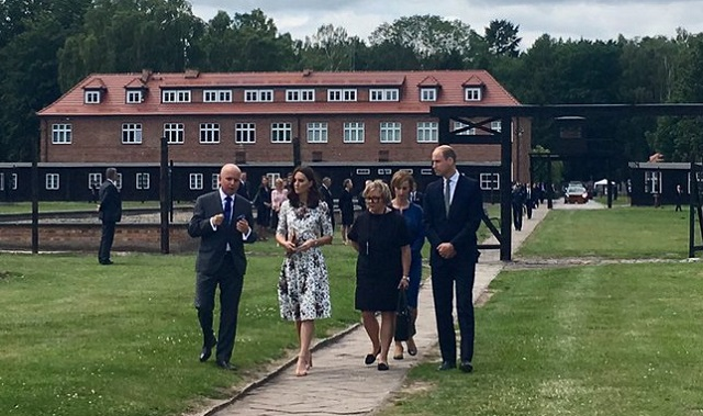 William, Kate visit Stutthof 2 cs