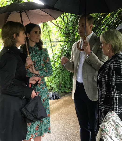 William, Kate meet reps of Diana's patronages s