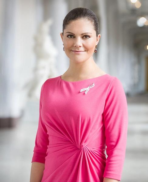 Crown Princess Victoria Pink Ribbon 2017 s