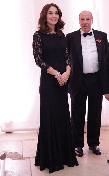 Kate Middleton at Anna Freud Centre Gala cs