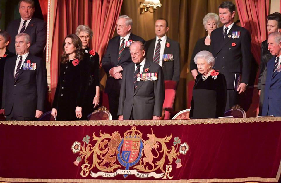 Kate at Festival of Remembrance