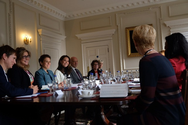 Kate at KP mental health roundtable s