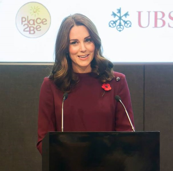 Kate gives speech at Place2Be Forum c