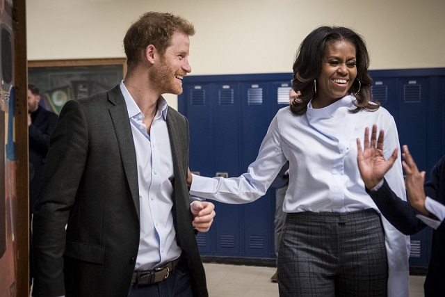 Prince Harry and Michelle Obama October 2017 s