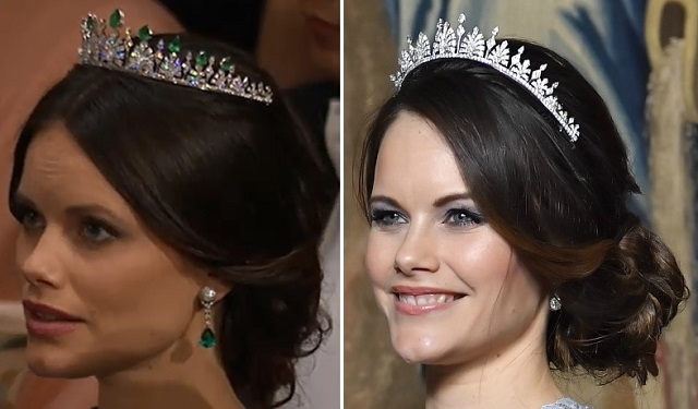 Princess Sofia Wedding Tiara Emerald v Diamond s