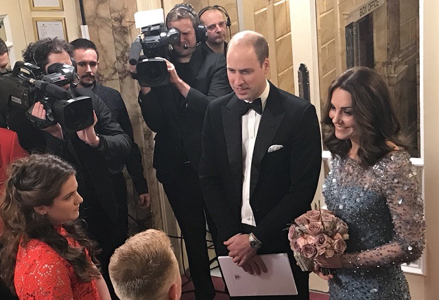 William, Kate Royal Variety Performance 2017 s