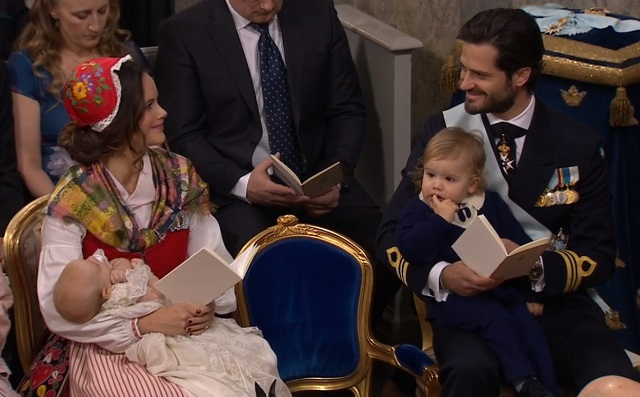 Prince Family Prince Gabriel's Christening cs