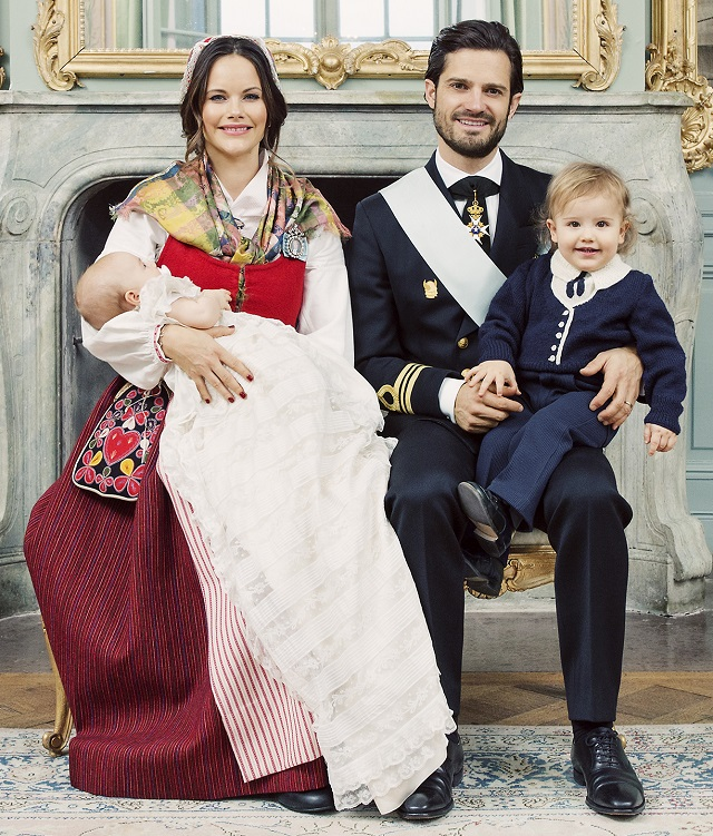 Prince Gabriel's Christening Portraits Prince Family
