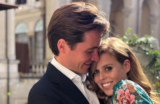 Princess Beatrice is engaged
