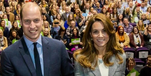 William & Kate celebrate Shout at volunteer event