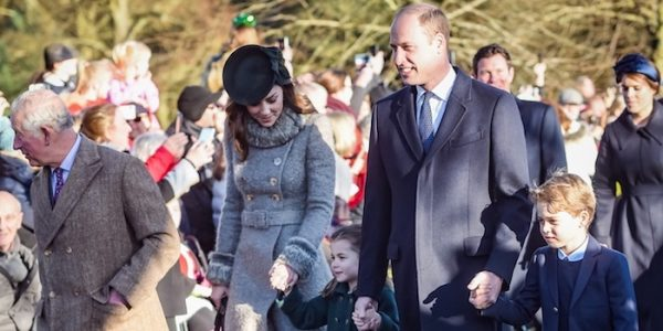 George & Charlotte join BRF for Christmas church