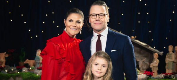 Swedish Crown Princess Family releases Christmas photos & video