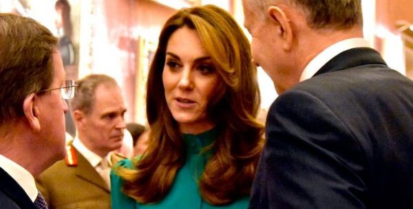 Kate in McQueen and Queen's diamonds for NATO reception (update)