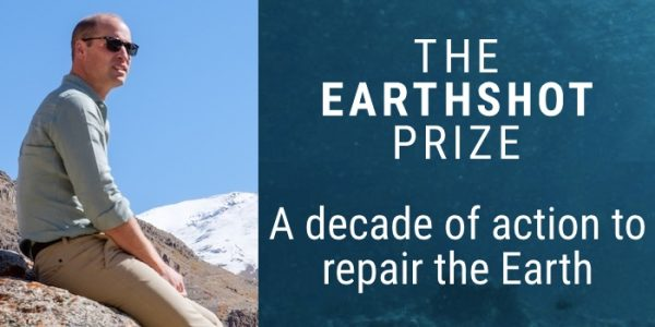 Prince William announces new endeavor: Earthshot Prize