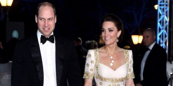 Kate brings back McQueen hibiscus gown for 2020 BAFTAs