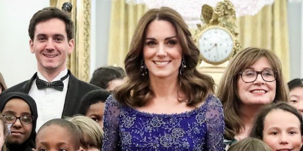 Kate repeats Jenny Packham for Place2Be 25th anniversary