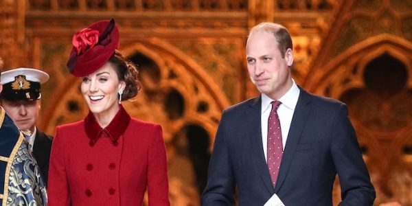 William & Kate join HM for Commonwealth Day Service