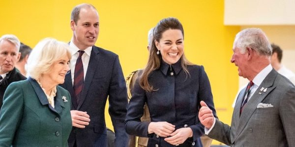 William & Kate join Charles & Camilla for DMRC visit