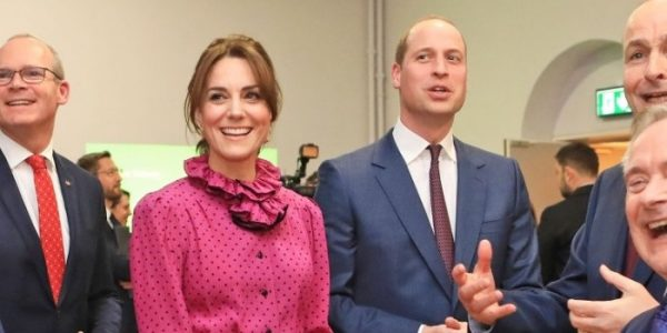 William gives speech on Irish-UK bond for Ireland Day 2