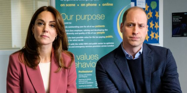 William & Kate visit London Ambulance Centre