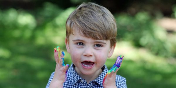 Prince Louis turns 2