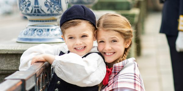 New photos of Princess Estelle & Prince Oscar for Sweden National Day